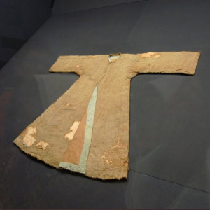 Dress of Sayyida Fatima, held in the Topkapi.